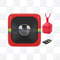 Polaroid Cube+ Action Camera (Red)