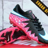 Sepatu Bola Nike Hypervenom II Black/Pink KW Super (Sepakbola,Soccer