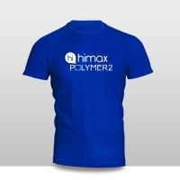 Kaos Baju Pakaian GADGET HANDPHONE Himax Polymer 2 Logo Font murah