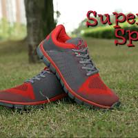 Sepatu Olahraga/Lari Superior K 183 Red (Original)
