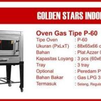 Oven Gas Golden Star P60