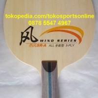 DHS Wind SR-A Kayu / Blade Bat / Bet Ping pong / Tenis Meja