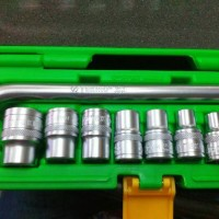 KUNCI SOK SET TEKIRO 8-24 MM 10PCS / KUNCI SOK TEKIRO BOX PLASTIK