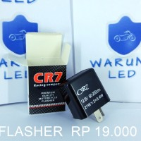 FLASHER LAMPU LED SEIN MOTOR BY CR 7