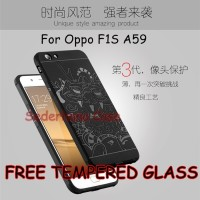 Case Oppo F1S A59 Armor Cocose Dragon Naga Softcase + Tempered Glass