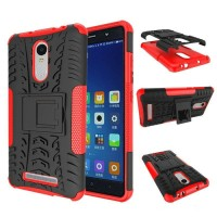 Casing Xiaomi Redmi Note 3 Back Case Cover Armor Rugged Kickstand