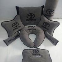 Aksesoris mobil Innova ( Headrest, sandaran jok, Bantal mobil )