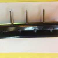 Busbar Tembaga Support Jepit FT-412 12mm Hitam