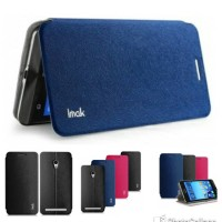 keren Zenfone 6 - Imak Smart Flip Leather Cover Case Series lucu Mu