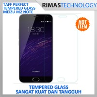 unik Meizu M2 Note Taff Tempered Glass Curve Edge Protection lucu D