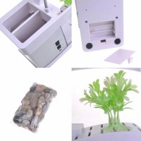 original USB Desktop Aquarium Mini with Running Water Digital Di telo<