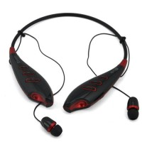unik Neckband Wireless Bluetooth Stereo Headset with FM Func keren