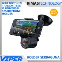 2017 stock PROMO Bluetooth FM Transmitter and Universal Smartphone ke<
