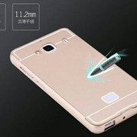 unik Redmi Note 2 - Aluminum Bumper with Back Cover telolet Murah