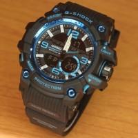Jam Tangan Pria Casio G-shock Mudmaster Super Premium Black Blue