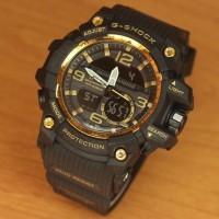 Jam Tangan Pria Casio G-shock Mudmaster Super Premium Black Gold
