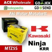 Aki Kawasaki Ninja KRR MOTOBATT MTZ5S/ kering motor u/ GS Yuasa