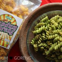 Gandum Goreng - Cemilan Sehat / Snack / Makanan Ringan - Balado Jeruk