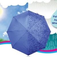 Payung Magic 3D muncul motif jika basah bonus sarung payung