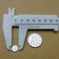 N52 Uk 10x1 mm Magnet Super Strong / Kuat Neodymium 10x1 mm Bulat Coin
