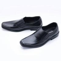 Sepatu Pria Pantofel Formal Slip On Kulit Asli MURAH 502HT