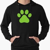 Hoodie Miraculous Ladybug Chat Noir Paw - Onecloth