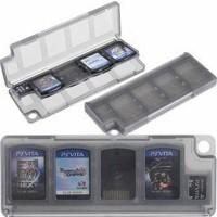 Album case kotak cartridge game playstation ps vita black / white