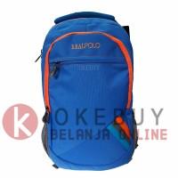 Tas Ransel Real Polo 6356 Blue Ransel/Kantor/Sekolah/Backpack