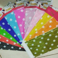 Table Cover / Taplak Meja motif Polkadot