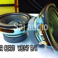 Speaker Woofer Curve W8347-B/H 4 (4 Inch) Magnet Super TEBAL...