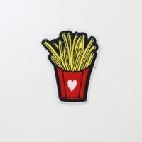 Iron Patch Frenchfries Limited...!!! (Emblem) Ukuran L: 5cm , T: 7cm