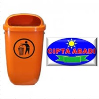 Bak Sampah Fiberglass Jenis Oval