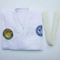 Baju TAEKWONDO Merk Tokwondo - Set Lengkap
