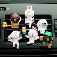 Parfum Pengharum Mobil Karakter LINE 2nd Edition