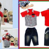 Baju Anak - Astro Boy Red (BO-479)