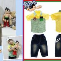 Baju Anak - Astro Boy Yellow (BO-479)