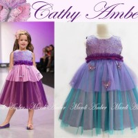 Baju Anak - Cathy Amber Dress (GI-726)