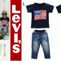 Baju Anak - Levi's Set (BO=482)