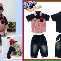 Baju Anak - Astro Boy Navy (BO-479)