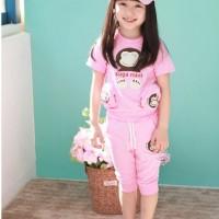 Baju Anak - Sugamint Pink Set (GI-729)