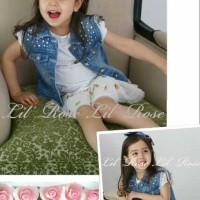Baju Anak - Sparkle Jeans Jaket (T-084)