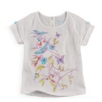 Baju Anak - White Birdie Set (GI-730)