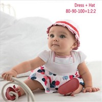 Baju Anak - Polka Dress (GI-727)