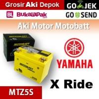 Aki Yamaha X Ride MOTOBATT MTZ5S/ kering motor u/ GS Yuasa