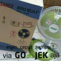 """Kipas Angin Meja Kecil 8"""" / Desk fan Sanex FD 0887"""