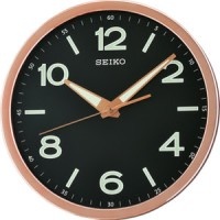 Seiko Wall Clock QXA679 S - P Lumibrite Quiet Sweep / Jam QXA679