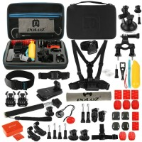 PULUZ PKT09 53 in 1 accessories for GoPro New Hero Action Cam BLACK