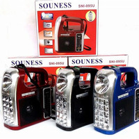 Lampu Emergency Lamp plus Radio AM FM dan Mp3 Player Souness