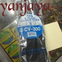 KSS NYLON CABLE TIES CV-300/30CM X4,8MM HITAM