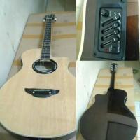 akustik elektrik Yamaha apx natural